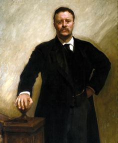 "26th U.S. President, Theodore ""Teddy"" Roosevelt"