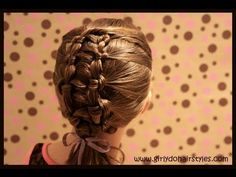 Finally a site that gives tutorials... Ladder Braiding.  She has other cute little girl hair styles as well that take you step by step.