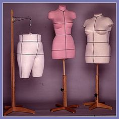 A dress form made in the exact shape of YOUR body! It saves you from wasted time, frustration and costly mistakes. It lets you be creative, fit yourself perfectly without a sewing buddy and makes an attractive addition to your sewing area.