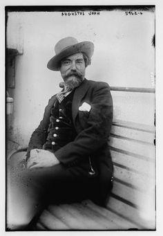 Augustus John. Photograph.