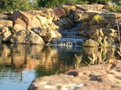 sublime water gardens..natural pool builder in TX