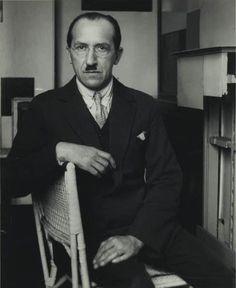 Piet Mondrian portrait by André Kertész