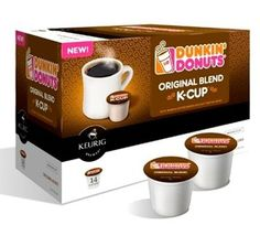 New Dunkin Donuts K-Cups= <3