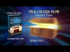 "Order Pastor John Hagee's new book, ""The Power of the Prophetic Blessing"""