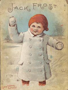 Antique book Jack Frost