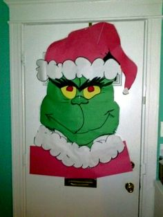 Grinch doornament
