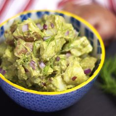 Creamy Potato Salad! (Vegan) This classic tasting potato salad features creamy avocado instead of mayonnaise, making it easily digestible and loaded with heart-healthy fats.