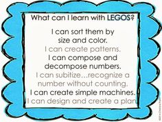 """Read Write Sing: """"I Can"""" Learning Posters for Centers (freebie)"""