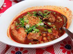 Yam Hai Heun Meuang from Pok Pok's Chef Andy Ricker More