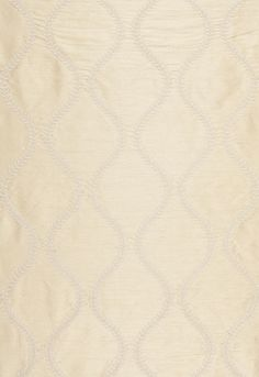 Fabric | Agadir Embroidery in Champagne | Schumacher