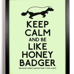 The Honey BADger