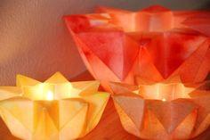 Waldorf Star Lanterns - Autumn Spice