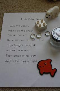 Circle Time: Little Polar Bear poem
