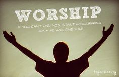 Worship! #Christian #Quotes #QOTD