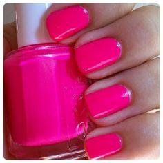 pink pink pink, toe, nail polish, pink nails, nail colors, summer nails, short nails, neon nails, summer colors