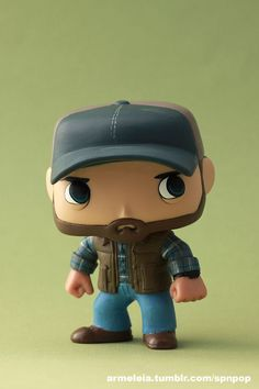 Bobby Singer Custom Funko POP (Supernatural) by Armeleia