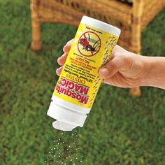Mosquito Magic Crystals, Pest Control, Backyard Outdoors Mosquito Repellent | Solutions