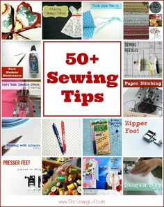 Easy Sewing Tips all in one place by The Sewing Loft