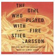Book 2 of Stieg Larsson's Millennium Trilogy. Excellent narration! Must listen in addition to watching the movies. Lisbeth Salander