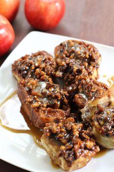 Apple & Moroccan Cinnamon Gooey Sticky Buns