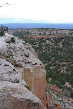 Tsankawi in Bandalier National Monument, New Mexico