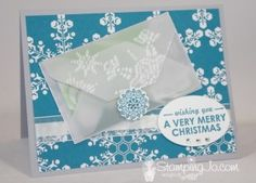 Gift Card Holder - Envelope Punch Board -