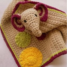 When it comes to unique crochet baby blanket patterns, nothing beats a crochet lovey. Combining both toy and blanket, it's the ultimate security blanket for your little one. And this Darling Elephant Crochet Lovey is no exception. Sweet, adorable, and charming all words that can be used to describe this precious pattern.