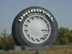 The Uniroyal Tire on I-94