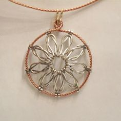 Love Knot Wire Work Pendant Tutorial - The Beading Gem's Journal
