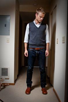 men accessories, mens fashion shorts, men outfits, men fashion, men clothes, stylish men, sweater vest, mens jean shorts