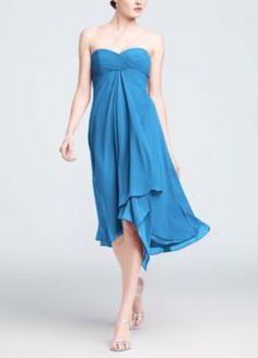 Tiffany blue bridesmaid dresses davids
