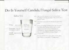 Candida Yeast Saliva Test