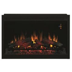 Classic Flame 36 in. Traditional Built-in Electric Fireplace Insert-36EB110-GRT - The Home Depot