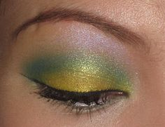 BFTE Cosmetics & MAC Lemon and Peacock were used in this look by Iambrigitte
