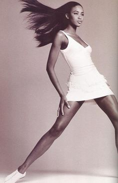 Naomi Campbell by Scavullo - 1989