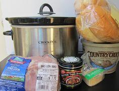 Crock Pot French Dip Sandwiches
