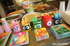 YO GABBA GABBA DIY Canisters, perfect for baby formula cans!