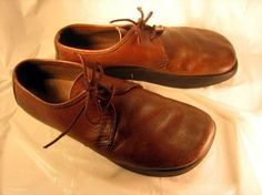 Earth shoes - I had some and loved the comfort they brought to my feet!