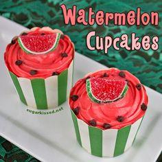 Yummy! Watermelon Cupcakes