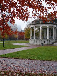 Boston Common in the Fall