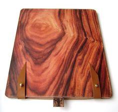 ipad case wood design: