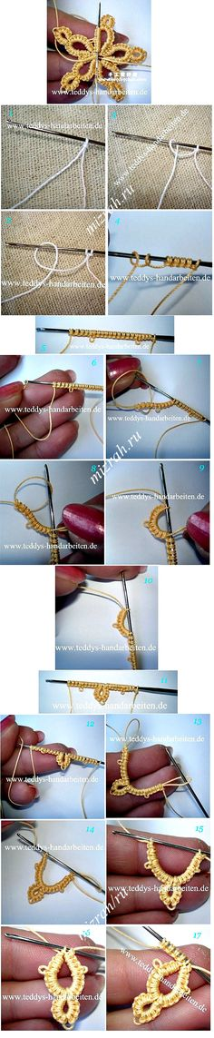 Needle tatting- TUTORIAL
