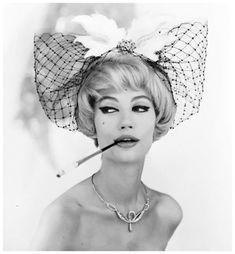 Photo Georges Dambier ~ Simone D'Aillencourt Pour Arachnee, 1959