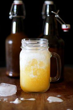Orange Creamsicle Kombucha #probiotics #homebrewed #kombucha #creamsicle