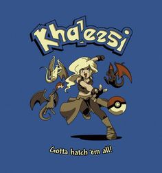 Khaleesi by BustedTees Artist