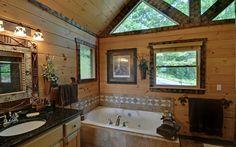 Luxury in the Mountains. . . Sadbe Mountain Lodge in Blue Ridge, GA