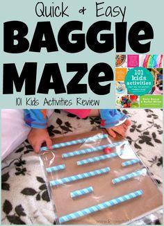 Quick  Easy Baggie Maze