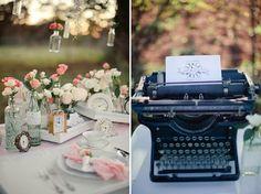 Coisas da Lívia: Editorial de Casamento Vintage