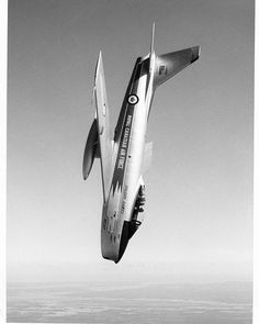 """Candair CL-13 """"Sabre"""" of the RCAF """"Golden Hawks""""."""