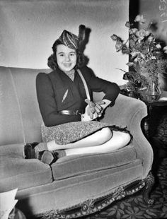 Actress Jane Withers at the Gunter Hotel circa 1940.